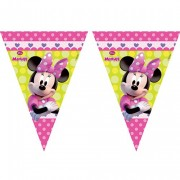 2,3m Wimpelkette Minnie Mouse