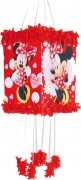 Pinata / Zugpinata Minnie Mouse Red