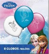 8 Luftballons Frozen Ice Skating