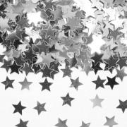 Silbernes Stern Konfetti