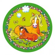 Tortenaufleger Mein Ponyhof für Kindergeburtstag