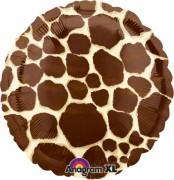 Folienballon Giraffe