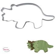 Ausstechform Dino Triceratops
