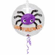 XXL-Folienballon - Happy Halloween - Spinne