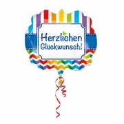 XXL Folienballon Happy Birthday - in bunt