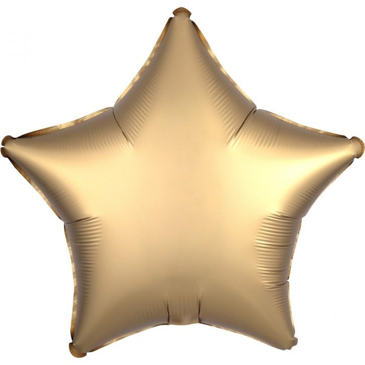 Folienballon Stern - Satin Luxe Gold Sateen (48cm)