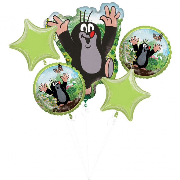 Folienballon-Set Kleiner Maulwurf