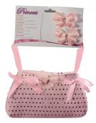Handtasche und Haarspangen für kleine Prinzessinen