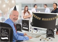 "Büro-Deko Set ""Happy Birthday!"""