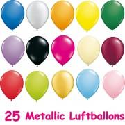25 Luftballons Metallic