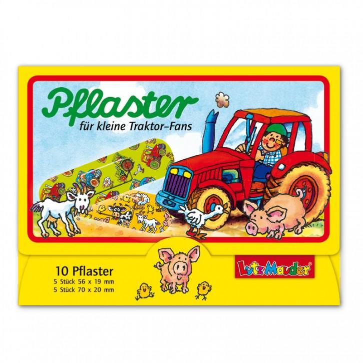 10 Kinder-Pflaster Bauernhof