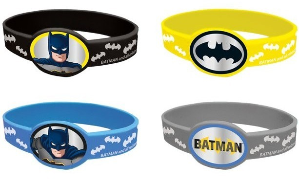 4 Armbänder Batman