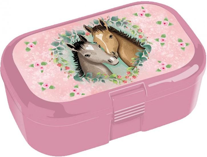 """Snackbox """"Pferd und Fohlen"""" von Lutz Mauder"""