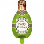 Folienballon Champagner