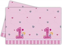 Tischdecke 1. Geburtstag - Mädchen