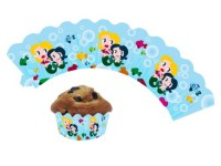 12 Cupcake Deko-Banderolen Meerjungfrau für Muffins