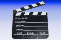 Regieklappe aus Holz