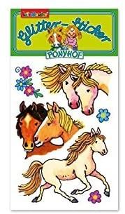 Mein Ponyhof Glitter-Sticker