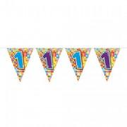 Mini-Wimpelkette für den 1. Geburtstag