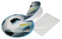 8 Einladungen Fußball II