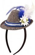 Mini-Hut / Tiara für das Oktoberfest