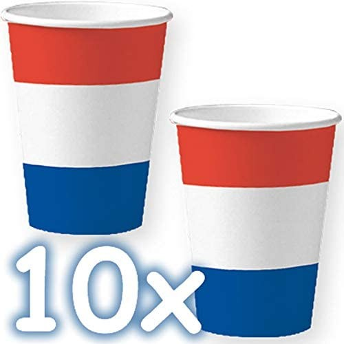 10 Becher Niederlande