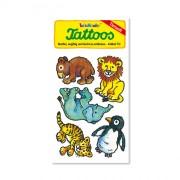 Zootiere Tattoos (Löwe, Elefant, Tiger, Pinguin, Bär) von Lutz Mauder
