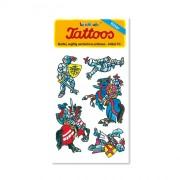 Ritter III Tattoos von Lutz Mauder