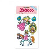 Prinzessin mit Pferd Tattoos von Lutz Mauder