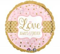 Folienballon Love - Always & Forever