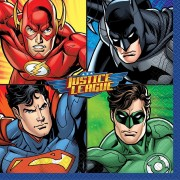 16 Servietten Justice League
