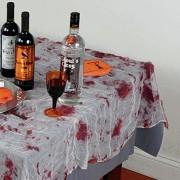 blutige Tischdecke Halloween