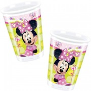 8 Becher Minnie Mouse
