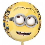 Runder Folienballon Minions - Ich einfach unverbesserlich