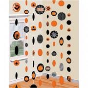 8 Deko-Schnüre Halloween