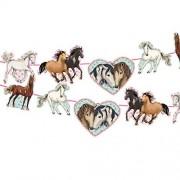 Wimpelgirlande Pferde