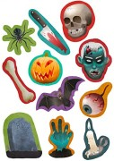 54-teiliges XXL-Konfetti Halloween