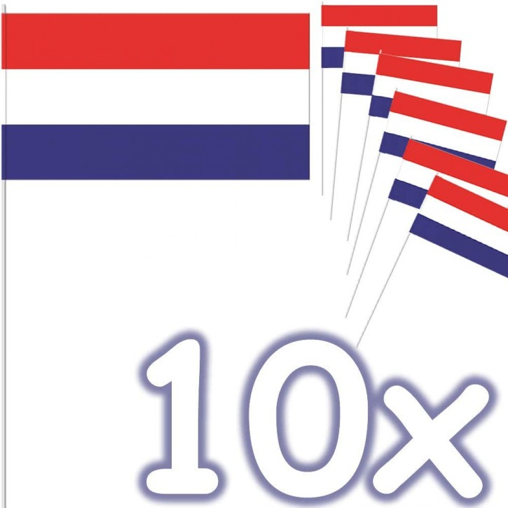10 Flaggen Niederlande