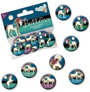8 Mini Buttons Lunabelle