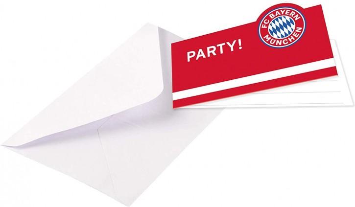 8 Einladungen FC Bayern München