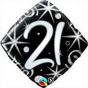 "Folienballon ""21"" - von Qualatex"