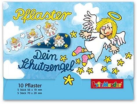10 Kinder-Pflaster Schutzengel