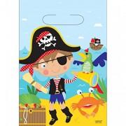 8 Partytüten Little Pirates II