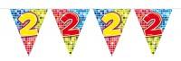 Wimpelkette für den 2. Geburtstag