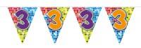 Wimpelkette für den 3. Geburtstag