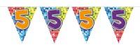 Wimpelkette für den 5. Geburtstag
