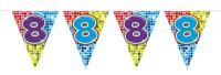 Wimpelkette für den 8. Geburtstag