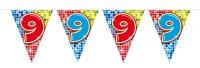 Wimpelkette für den 9. Geburtstag