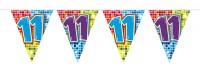 Wimpelkette für den 11. Geburtstag