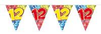 Wimpelkette für den 12. Geburtstag